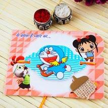 Doraemon kids Rakhi: Send Rakhi for Kids to Australia