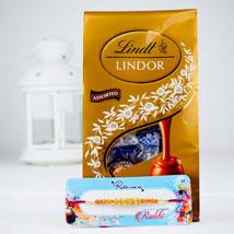 Pyar Bhara Rista Rakhi With Lindt chocolates: Send Rakhi to Sydney