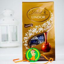 Pyar Ka Rista Rakhi With Lindt chocolates: Rakhi to Sydney