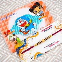 Pyara Bhaiya Two Rakhi Set: Rakhi for Kids Australia