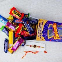 Rakhi with Cadbury Favourite: Send Rakhi to Sydney