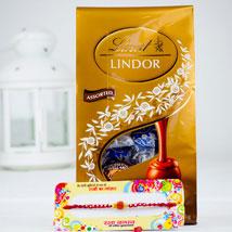 Rakhsa Rakhi With Lindt Chocolate: Rakhi to Sydney