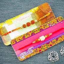 Shubh Laabh Two Rakhi Set: Send Rakhi to Australia