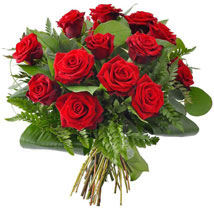 12 red roses: Gifts to Canada for Friend