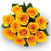12 Yellow Roses: Send Thank You Flowers to Canada