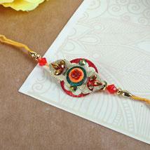 Elegant Embroidery Rakhi: Rakhi to Winnipeg