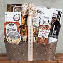 Gray Monk Pinot Gris Assortment: chocolate Gift Baskets in Canada