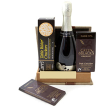 Sparkling Gourmet Quartet: Gifts to Canada for Sister
