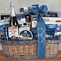 Sparkling Wine and Gourmet Assortment: Chocolate Delivery Canada