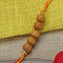 Simple Chandan Rakhi CRO: