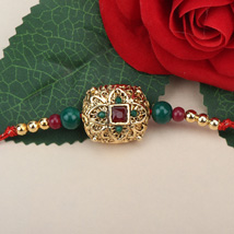 Traditional Antique Rakhi CRO: Send Rakhi to Croatia