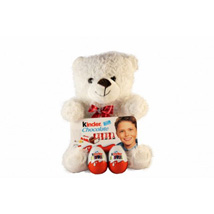 Kinder Surprise Teddy: Gifts to Finland