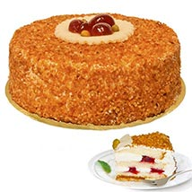 Dessert Hazelnut Brittle Cake