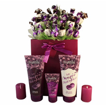 Deep purple with spa: Send Gifts to Greece