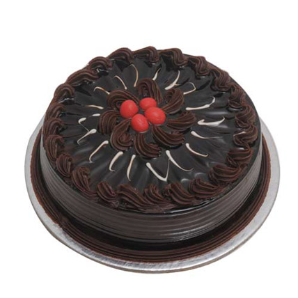 1 kg Chocolate Truffle Cake by FNP