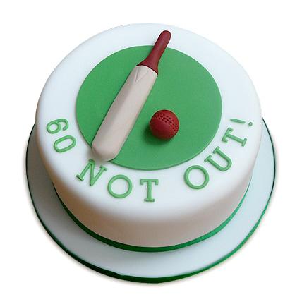 60 Not Out Designer Cake 2kg Eggless Black Forest