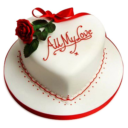 All My Love Cake 3kg Eggless Black Forest