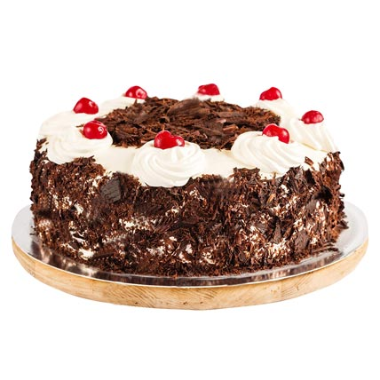 Ambrosial Black Forest Cake 1kg Eggless