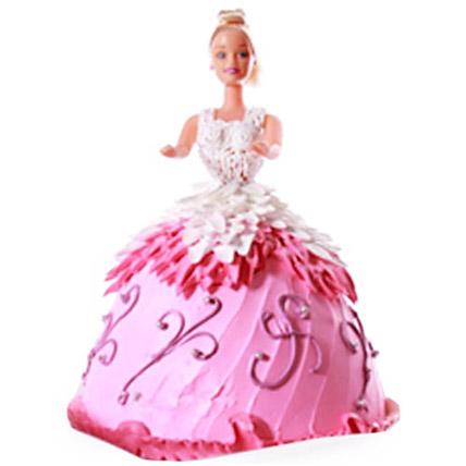 Baby Doll Cake 4kg Eggless