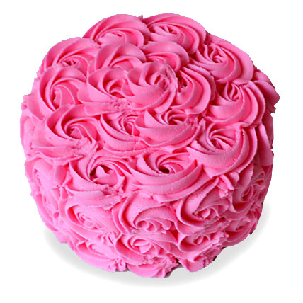 Brimming With Roses Cake 2kg Eggless Vanilla