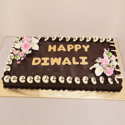 Chocolate Frenzy Diwali Cake 3kg