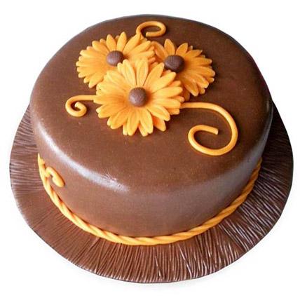 Chocolate Orange Cake 2kg Eggless