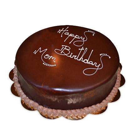 Chocolaty Birthday Cake Half kg Eggless