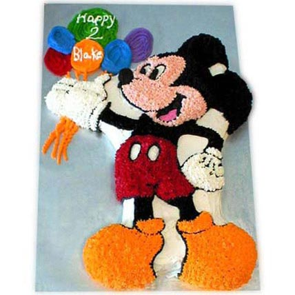 Creamy MM with Balloons 3kg Eggless Vanilla