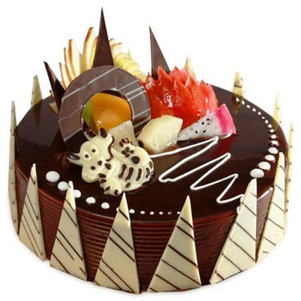 Cute Chocolate Cake 1kg by FNP