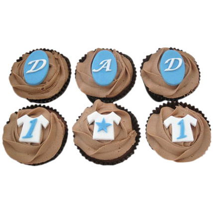 DAD Special Cupcakes 24 Eggless
