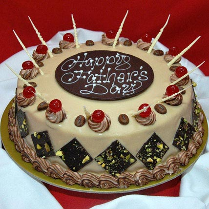 Decorative Fathers Day Cake 1kg Eggless