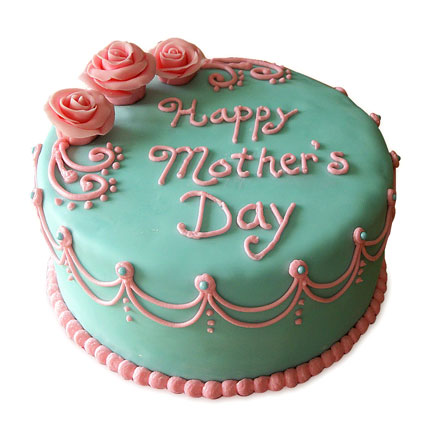 Delectable Mothers Day Cake 2kg Eggless Black Forest