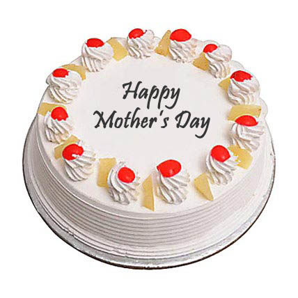 Eggless Mothers Day Pineapple Cake 1Kg