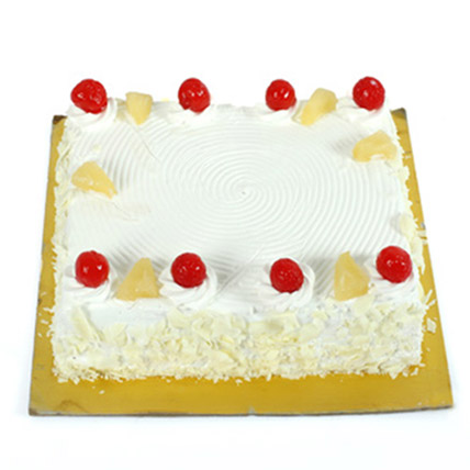 Exotic Pineapple Cake 2kg Eggless