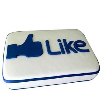 Facebook Customized Cake 2kg