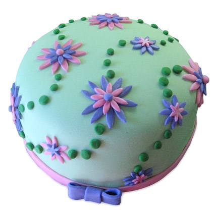 Flower Garden Cake 2kg Pineapple