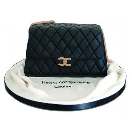 Fondant Handbag Cake 2kg Eggless