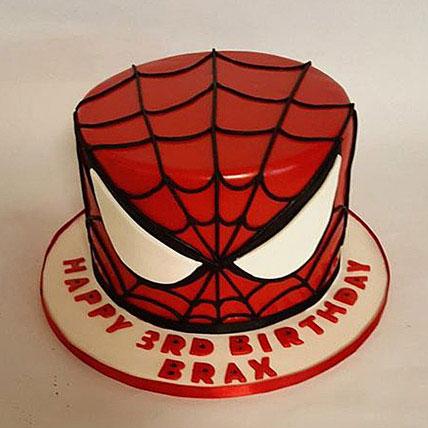 Glorious Spiderman Cake 3kg