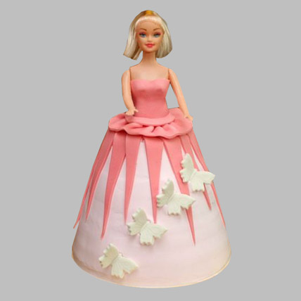 Gorgeous Barbie Cake 2kg