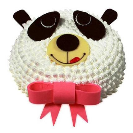 In Love With Panda Cake 1kg Vanilla