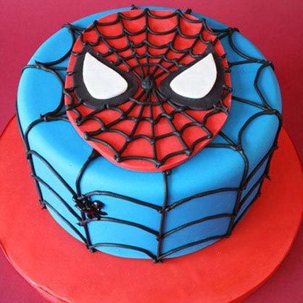 Just For You Spiderman Cake 1Kg Chocolate