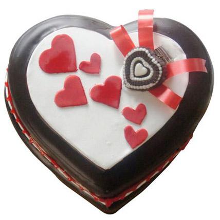 Love in abundunce Valentine cake 1kg