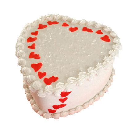 Lovely Heart Shape Cake 2kg