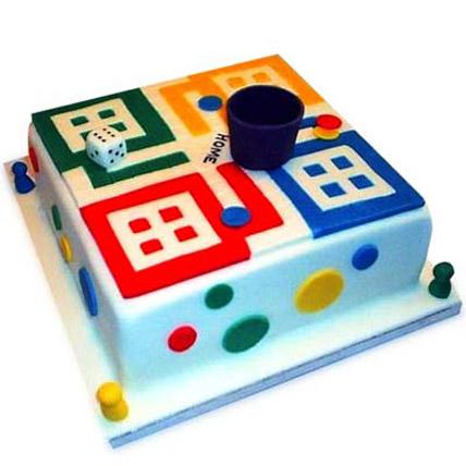 Ludo Artistic Birthday Cake 3kg