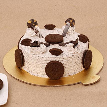 Luscious Oreo Cake Half KG