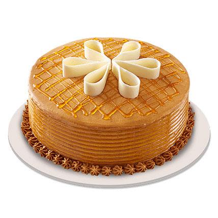 Lush Caramelt Cake 1kg Eggless