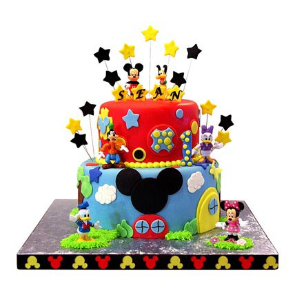 Mickey Mouse Clubhouse Cake 4kg
