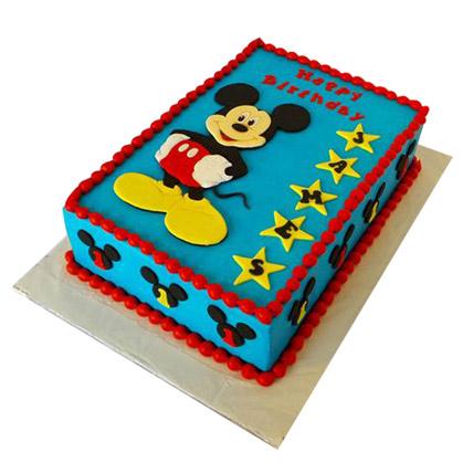Mickey Mouse Designer Fondant Cake 3kg