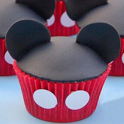 Mickey Mouse Mania Cupcakes 6