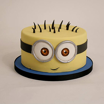 Minion Cartoon Cake 3kg Eggless